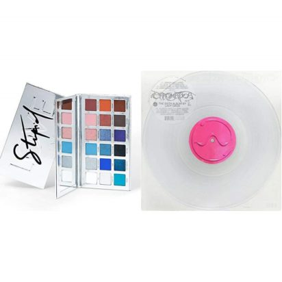 CHROMATICA ALBUM & STUPID LOVE EYESHADOW PALETTE Set by Lady Gaga & HAUS LABORATORIES - Music-inspired 18-Shade Makeup Palette with Pigmented Matte, Metallic, Sparkle, and Multi-Reflective Finishes - 1