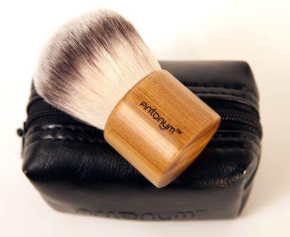 Antonym Cosmetics Vegan Kabuki Brush with Pouch - 1
