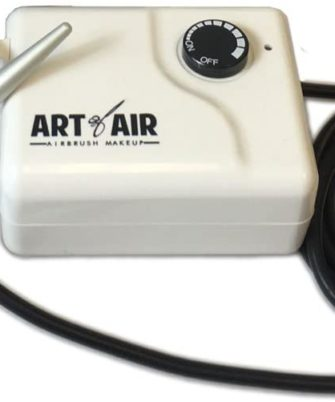 Art of Air Compressor And Airbrush Combo for Professional Airbrush Cosmetic Makeup - 1