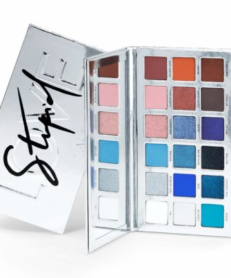 HAUS LABORATORIES By Lady Gaga: STUPID LOVE EYESHADOW PALETTE, Limited Edition 18-Shade Palette | Eye Makeup with Pigmented Matte, Metallic, Sparkle, & Multi-Reflective Finishes, Vegan & Cruelty-Free - 1
