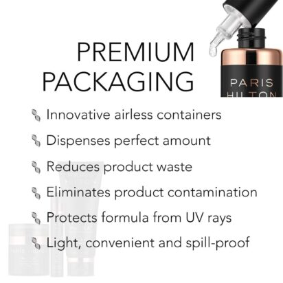 Healthy Skin Essentials Set- ProDNA Dual-Action Cleansing Gel, Advanced Recovery Serum, Face & Décolletage Cream and Lift & Firm Eye Cream - 3