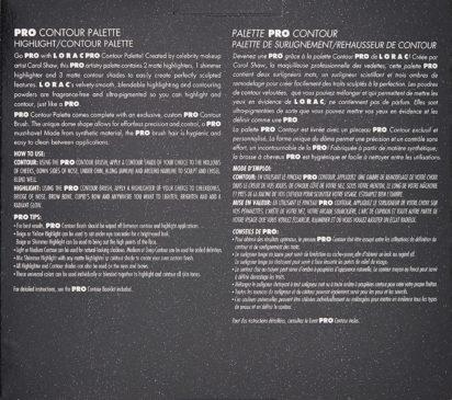 LORAC PRO Contour Palette & Contour Brush, Multi - 3