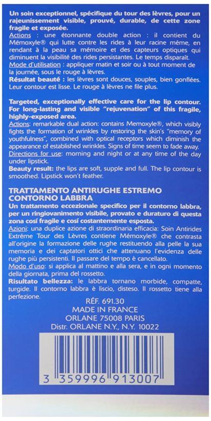 Orlane Paris Extreme Line,Reducing Lip Care - 3