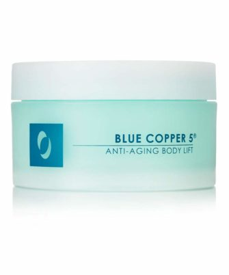 Osmotics Blue Copper 5 Anti-Aging Body Lift, Pregnancy Stretch Mark Prevention and Removal Cream, Firms bust, belly & behind for visible lift, 5 Full Oz. - 1