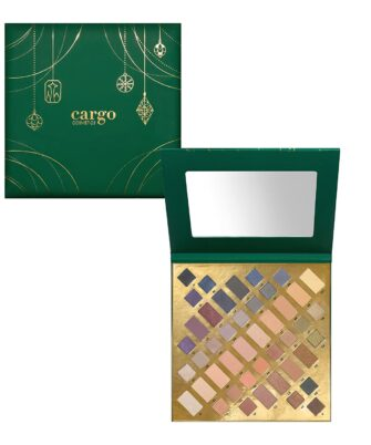 Cargo Cosmetics High Pigment Eyeshadow Palette, Smudge-Proof, Transfer-Proof, Longwear, Crease-Proof, Emerald City Blockbuster Eye Shadow Palette Limited Edition - 1