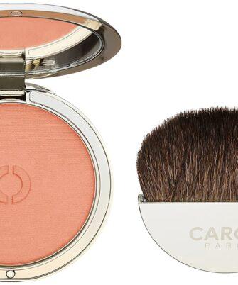 Caron Paris Fard A Joues Poudre Peau Fine Blush, Corail - 1